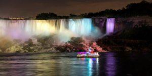 The New Niagara Falls Illumination
