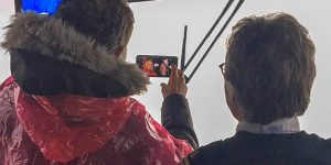 David Hasselhoff Visits Hornblower Niagara Cruises
