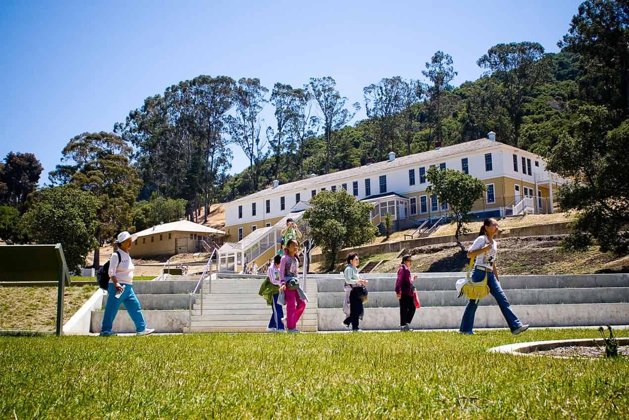Alcatraz School Trip