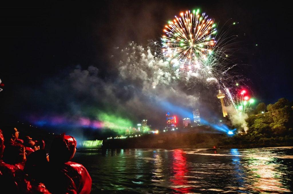 Nightly Firework Shows