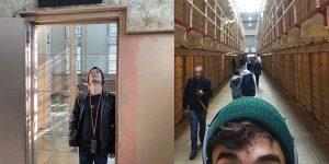 Biblioteca y celdas de alcatraz