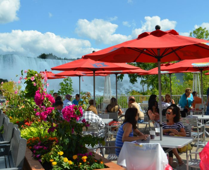 Riverside Patio - City Experiences anchored by Hornblower