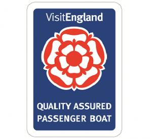 Visit England Quality Assured Passenger Boat logo