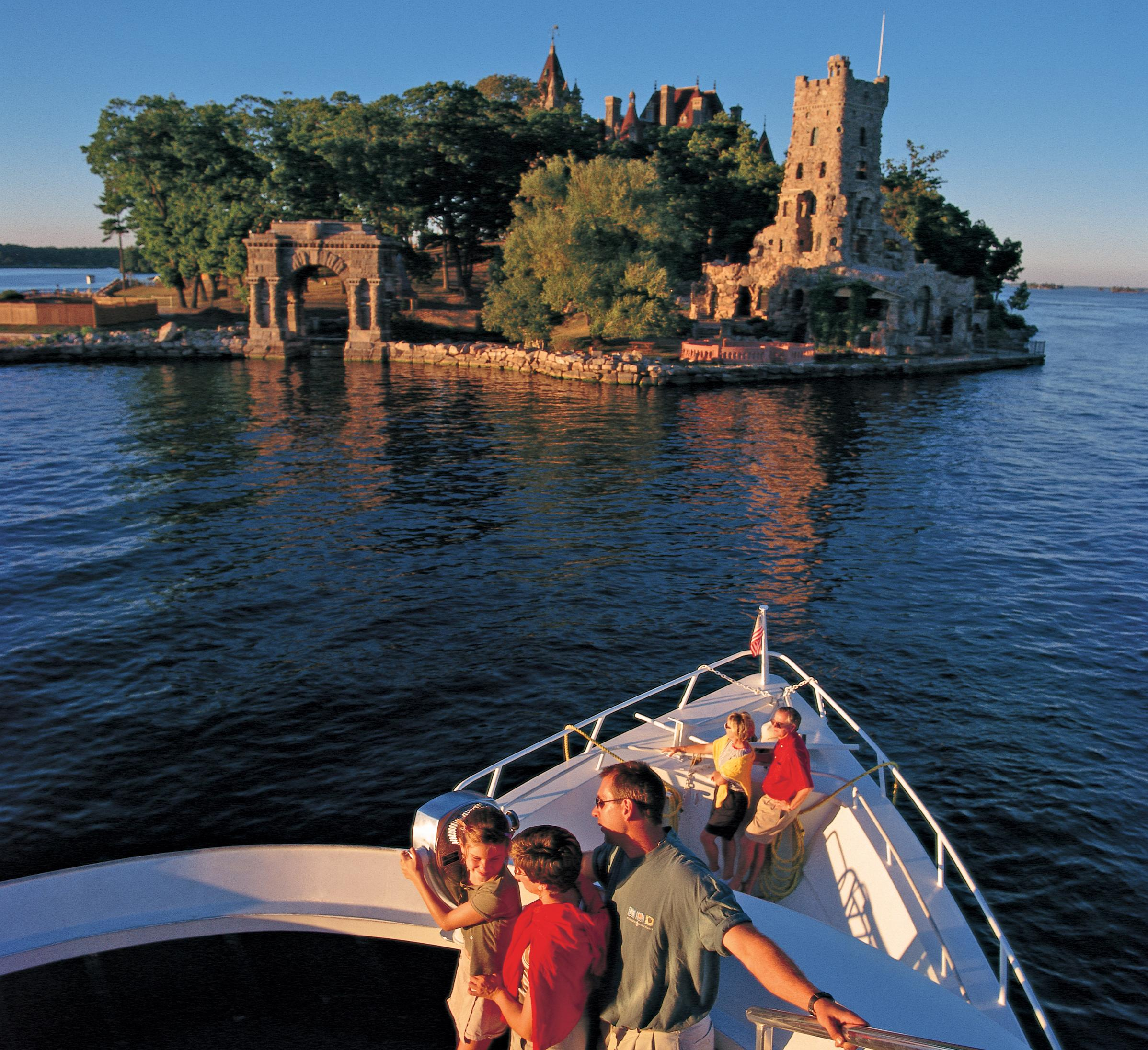 Thousand Island Cruise with guests