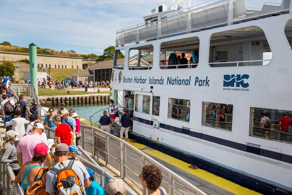 Boston Harbor Islands Cruise